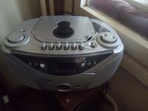 Radiocasetofon cu CD player Watson