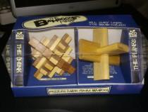Puzzle din lemn set 2 bucati original UK