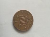 Moneda 1 penny 1989-Anglia