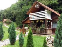 Cabana de inchiriat din lemn rustica Apuseni
