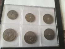 Lot monezi 5 bani și 10 bani
