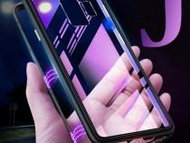 Samsung j4 plus - husa magnetica spate din sticla si rama me