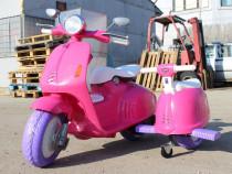 Scuter electric pentru 2 copii City Scooter 35W 12V #ROZ
