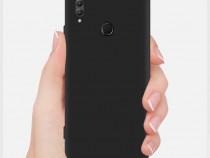 Huawei Y5 Y6 Y7 Y9 Prime 2018 - Pachet Husa Silicon Clara/Ne