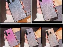 Huse degrade cu sclipici Samsung Galaxy A7 2018 / A9 2018