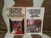 O mie noua sute optzeci si patru/Ferma animalelor-G.Orwell