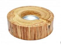 Scrumiera din lemn de stejar
