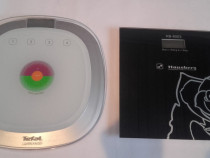 2 cantare electronice persoane afisaj LCD-Tefal si Hausberg