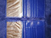 Două portofele bărbătești din piele