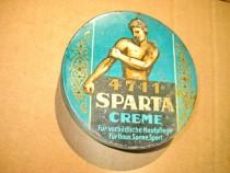 A344-Cutie Sparta veche crema de piele:acasa-soare-sport.