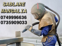 Sablare &, vopsire electrostatica Mangalia-Constanta