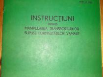 1971 - Instructiuni privind manipularea transporturilor CFR