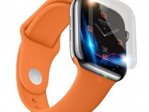 Folie Din Silicon Curbata Ceas Apple Watch 1 2 3 4 38mm 40mm