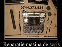 Reparatie masina de scris.Oferim suportul necesar