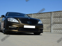 Prelungire splitter bara fata Mercedes S Class W221 AMG v2
