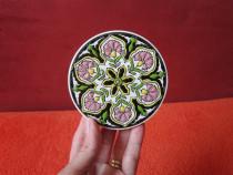 Ceramica vintage hand made by pipos rodos keramik -cadou