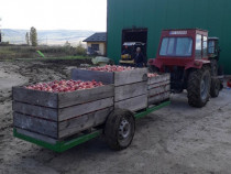 Remorca boxpaleti livada, baloti paie sau schimb cu fructe