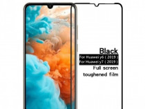 Huawei Y5 Y6 Y7 2019 Pachet Husa Silicon + Folie Sticla 11D