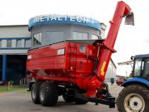 Remorca de transfer cereale cu snec MetalTech