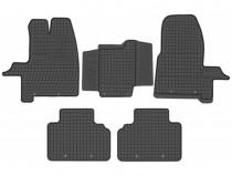 Set Covorase Auto Cauciuc Negro Ford Custom 2012→