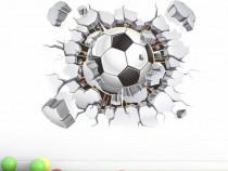 Sticker \ Abtibild mingie fotbal 3D camera copil