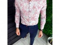 Camasa barbati eleganta evenimente si office model 2019