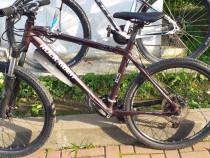 Bicicleta ROCKRIDER,MTB 27viteze,shimano,frîne disc ulei,alu