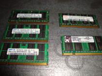 Memorie ram laptop ddr2 1gb 667 Mhz PC2 5300 Samsung Kingsto