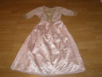 Costum carnaval serbare rochie barbie 6-7-8 ani