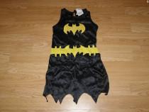 Costum carnaval serbare batman batgirl 4-5-6 ani
