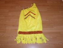 Costum carnaval serbare rochie dans 6-7-8 ani