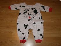 Costum carnaval serbare animal catel dalmatian 6-9 luni