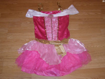 Costum carnaval serbare printesa aurora pentru adulti S