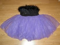 Costum carnaval serbare rochie dans gala 4-5-6 ani