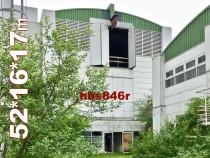 Hală metalică demontabilă 846m2 parter + 2 etaje, Germania