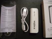 Baterie acumulator extern USB powerbank li-ion 2000mah nou