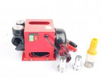 Pompa motorina 12V 75 l/minut cu sistem de racire