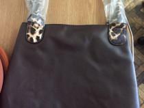 Geanta Leopard Shopper