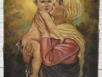 Tablou scena materna