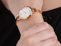 Ceas dama / femei / fossil - es4391 / gold / nou in cutie
