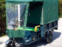 Triciclu electric - tuk tuk - camioneta move eco verde