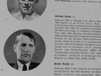Carte veche arhitectura alfred roth 1940