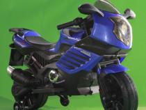 Motocicleta electrica cu 2 motoare pentru copii LQ-168