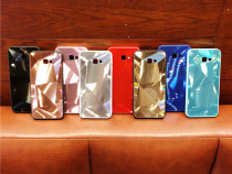 Husa tip oglinda cu model geometric 3D Samsung Galaxy M20