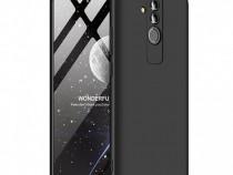 Husa Telefon Plastic Huawei Mate 20 Lite 360 Full Cover Blac