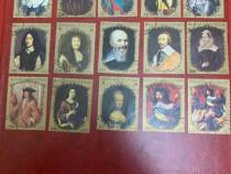 Timbre colite cu toata familia lu ludovic XV