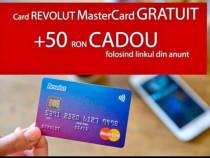 Card Revolut + 50RON cadou