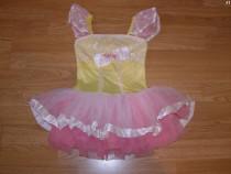 Costum carnaval serbare rochie dans balet gala 4-5 ani