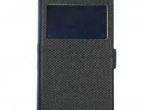 Husa Telefon Flip Book S-View Samsung Galaxy J7 2017 j730 Bl