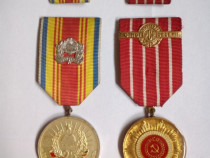2 medalii romania comunistă